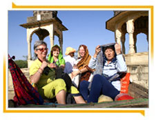 Touristen in Rajasthan