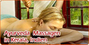 Ayurveda  Massagen in Kerala, Indien