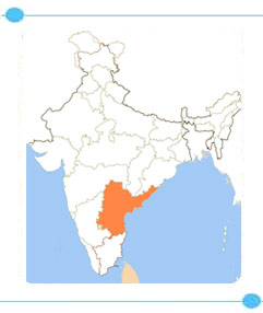 Andhra Pradesh Reise Inn Reisen India Tourism Map on