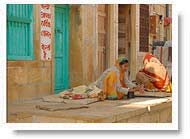 Lady in Jaisalmer